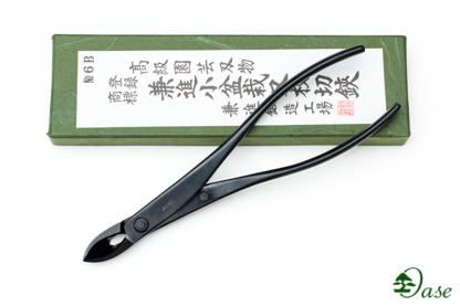 (6B) Ukośne obcęgi ze stali czarnej 180mm