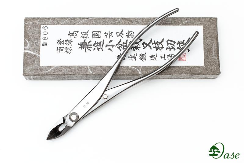(806) Ukośne obcęgi ze stali szlachetnej 180mm